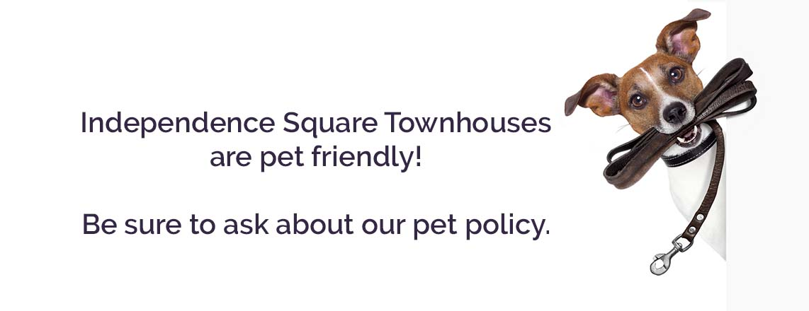Pet Policy at Independence Square